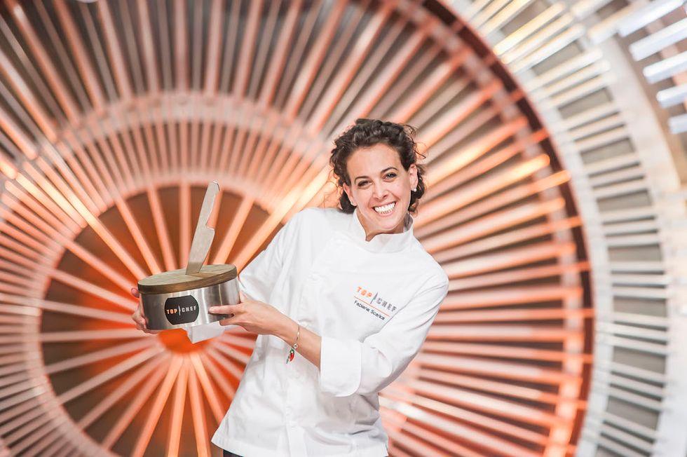 Fabiana Scarica Top Chef Italia 2017