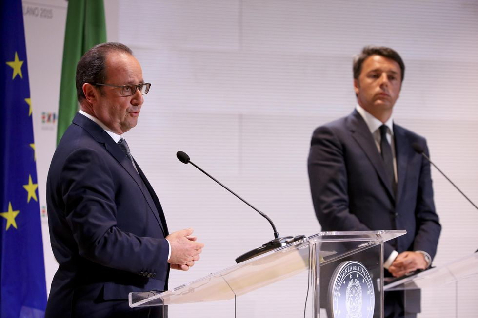 Hollande-Renzi