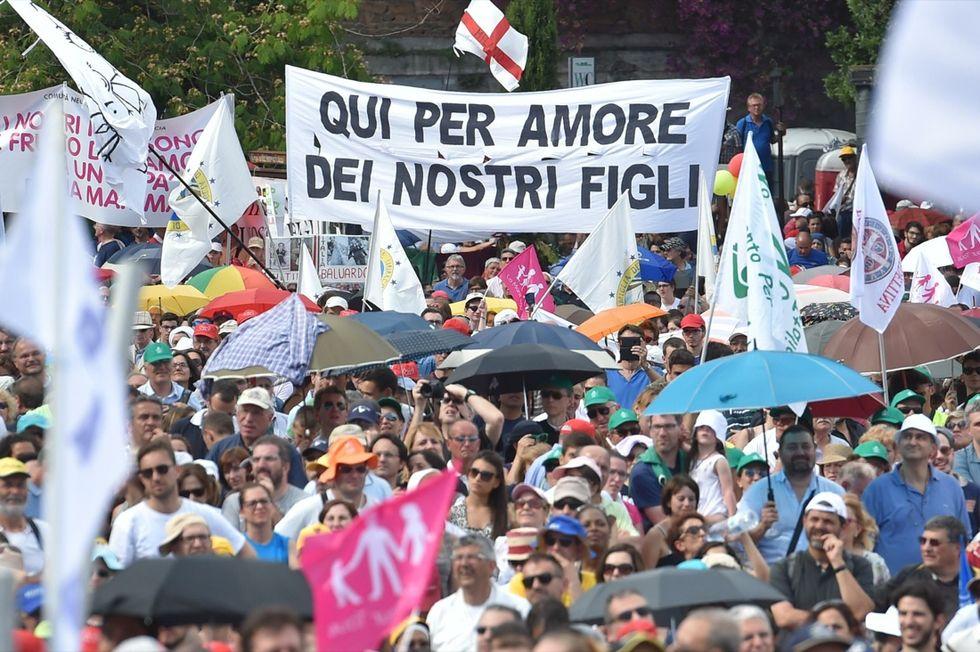 Family Day a Roma - Le foto