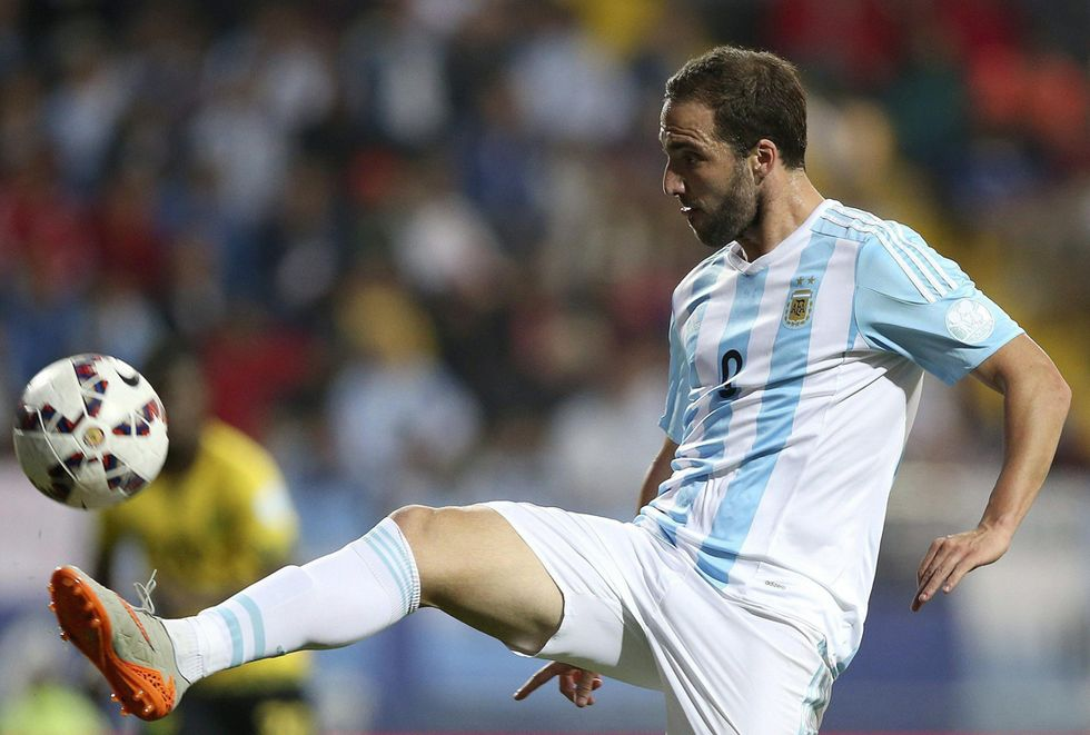 Copa America, i goal: Uruguay-Paraguay 1-1, Argentina-Giamaica 1-0