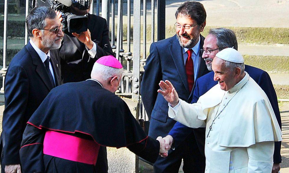 """Il Papa ai Valdesi: """"Chiedo scusa da parte della Chiesa cattolica"""""""
