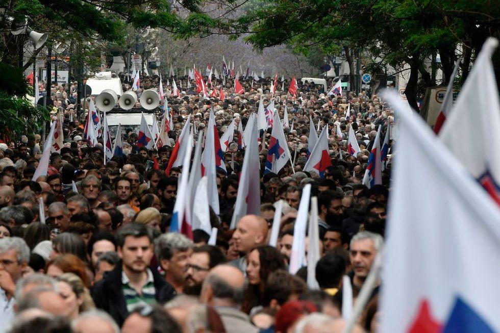 scioperi-grecia