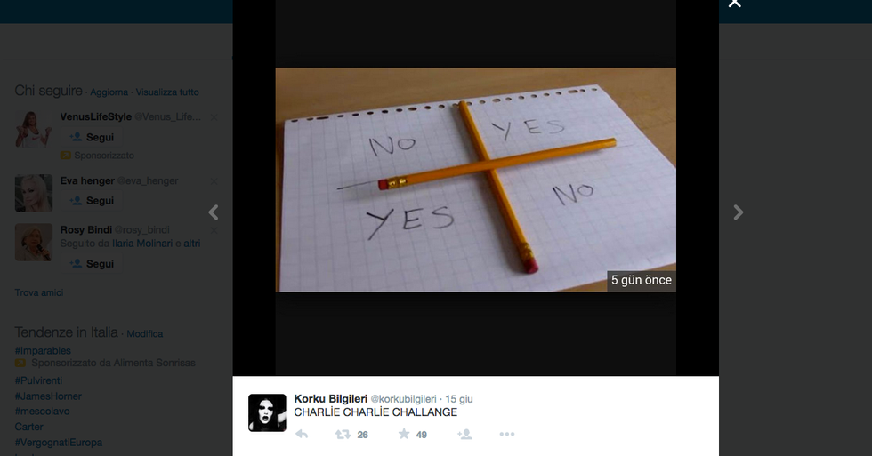 Charlie Challange, è psicosi tra i giovani