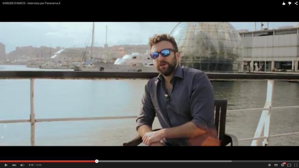"""Video intervista a Dargen D'Amico: """"Ecco perché credo in D'iO"""""""