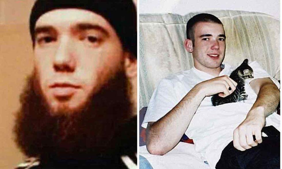 """Gli ultimi minuti di vita della """"bestia bianca"""", jihadista britannico"""