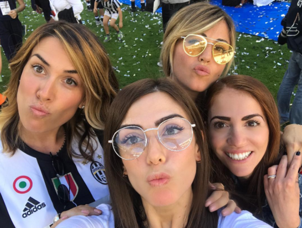 wags Juventus scudetto 2017