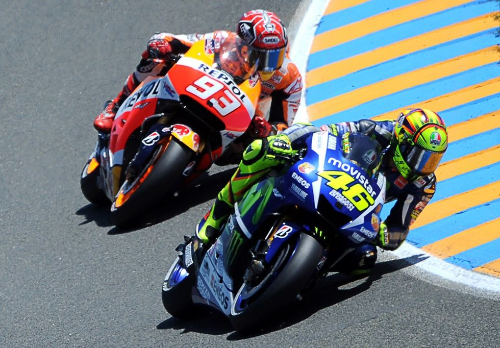 """Rossi e Iannone contro Marquez: """"meno carenate, please"""""""