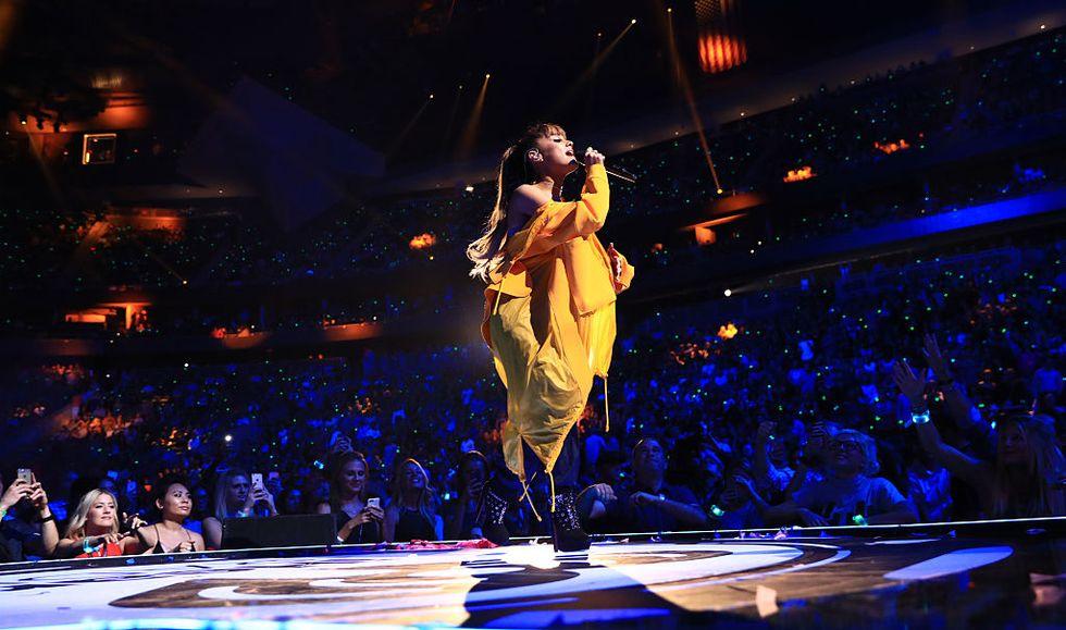 Ariana Grande trionfa a Roma  - La scaletta del concerto
