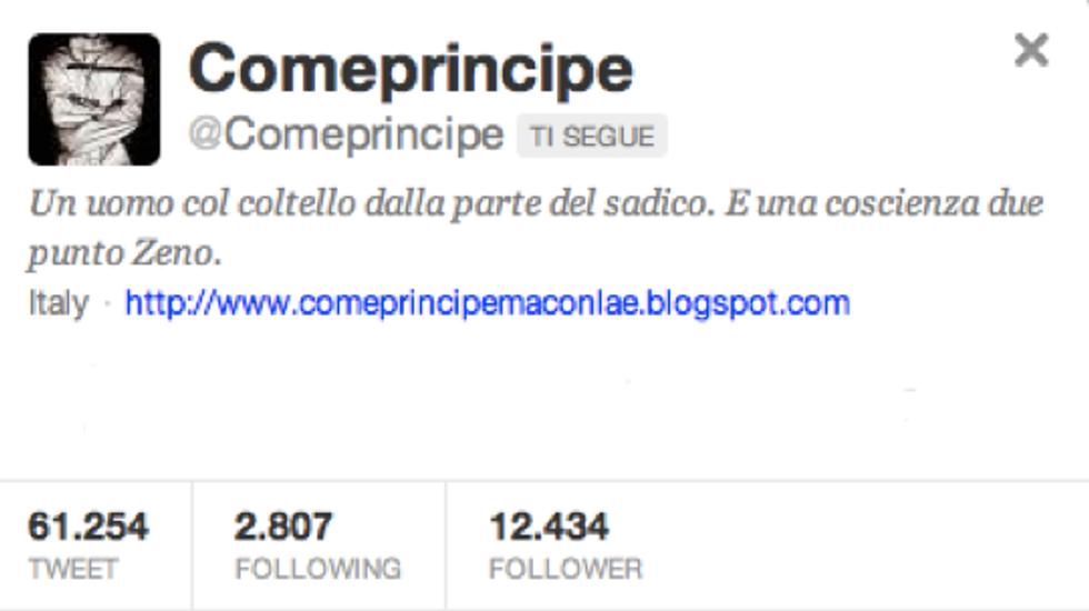 @Comeprincipe: sono certo vorrai scusarmi, ma debbo correre ad innamorarmi