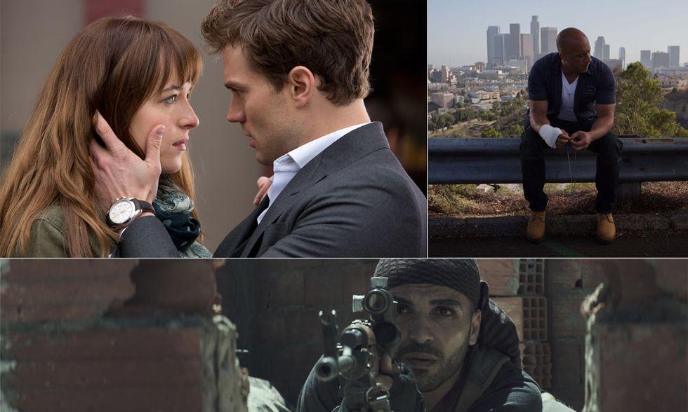 I 10 film più visti del 2015 (finora)