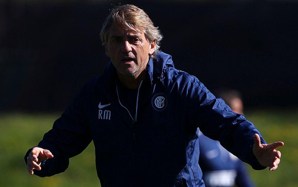 """Inter, Mancini: """"Pensiamo allo scudetto. Kondogbia? Sarà un top player"""""""