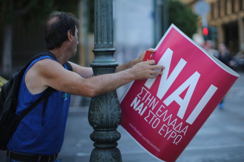 crisi Grecia referendum