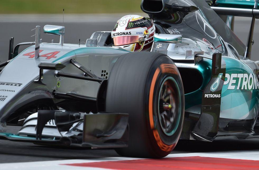 Gp Gran Bretagna, qualifiche: pole Hamilton, Ferrari in terza fila