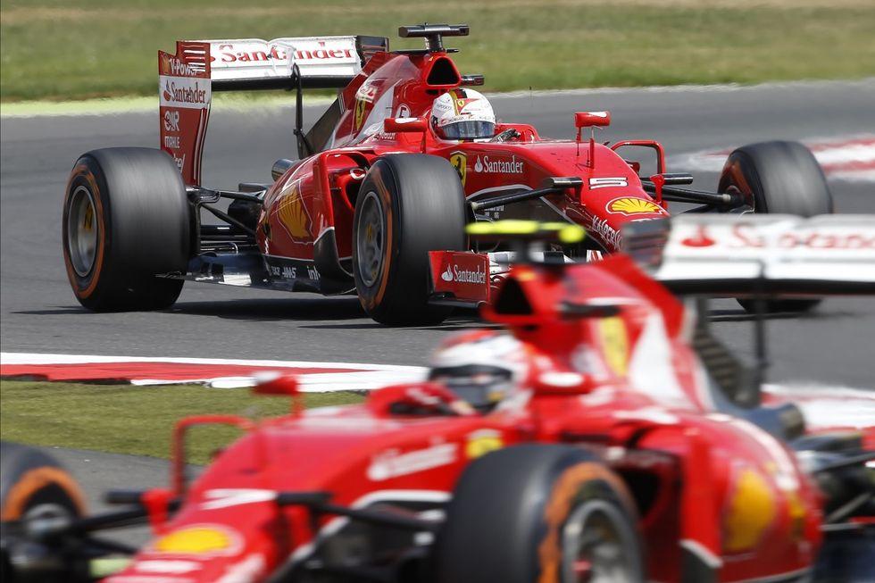 Gp Gran Bretagna: Ferrari raggiunta e superata dalla Williams