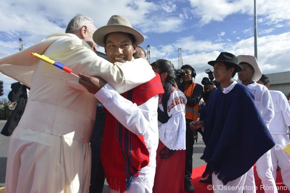 La denuncia del Papa: i poveri sono il più grande debito dell'America Latina