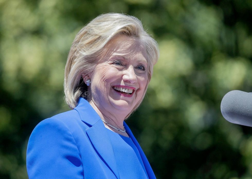 Hillary Clinton risposta ragazzino gayunch speech in New York