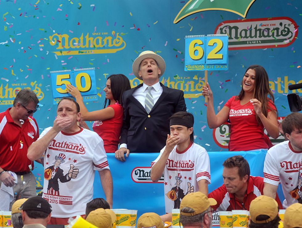 "Matt Stonie, il ""re degli hot dog"""