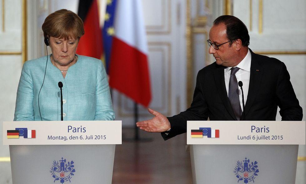 Asse franco-tedesco per bombardare l'Isis