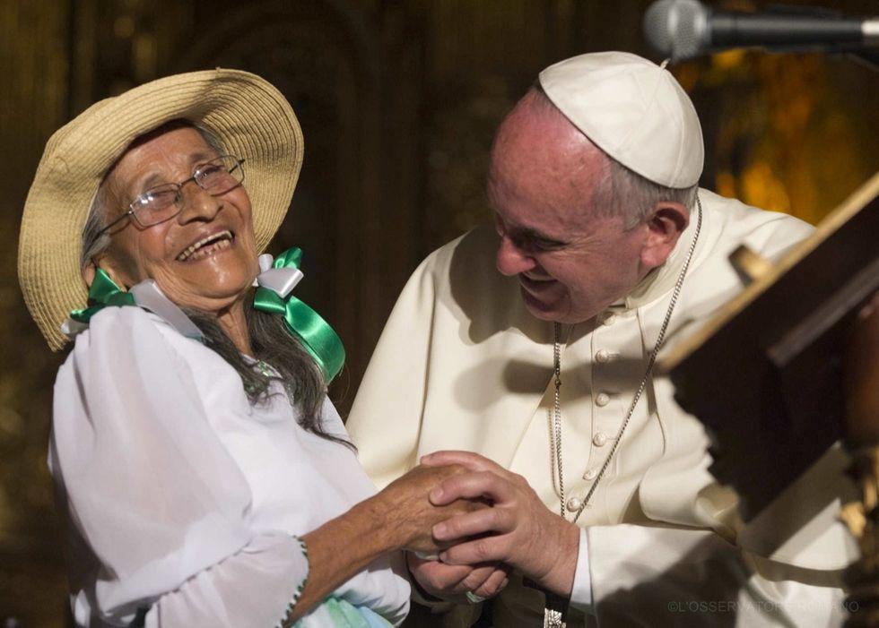 """""""Basta saccheggiare l'ambiente"""", l'appello del Papa dall'Ecuador"""