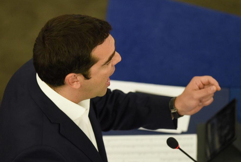 parlamento europeo discorso tsipras