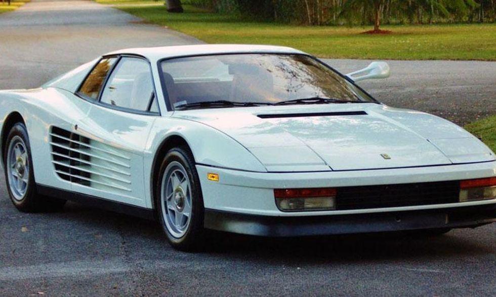 Ferrari Testarossa, Miami Vice