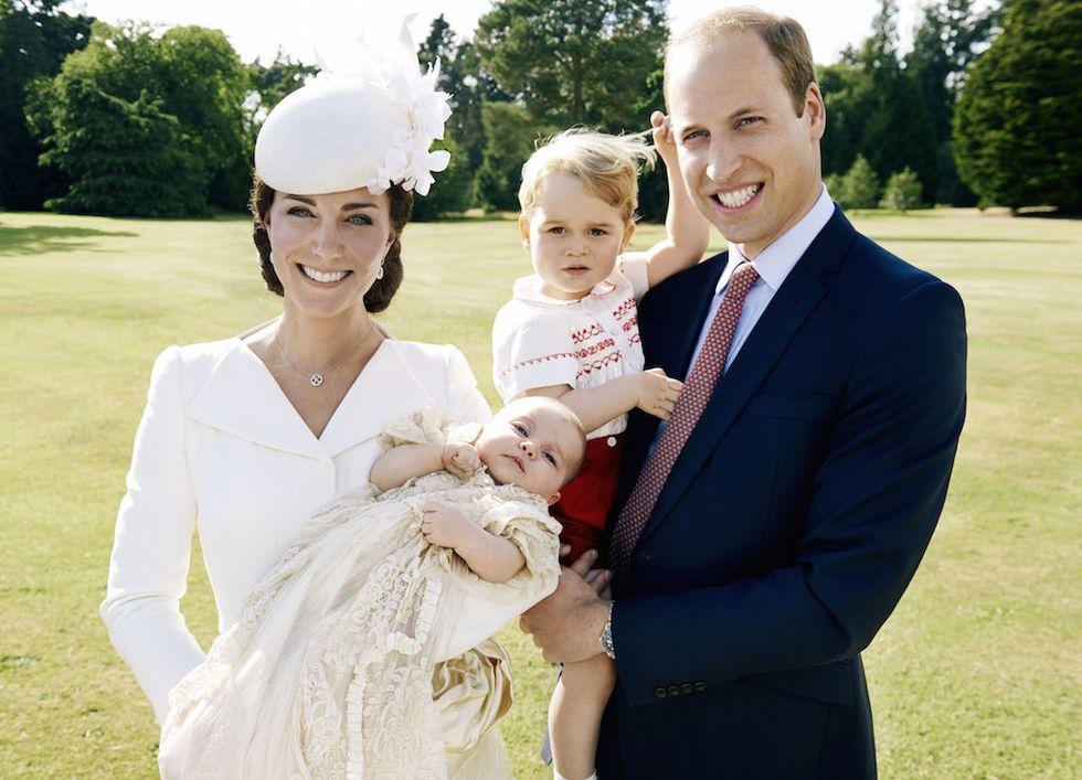 battesimo Charlotte William Kate e George