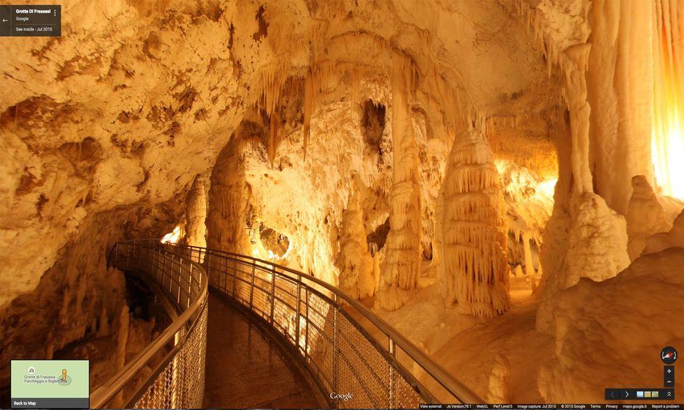 Grotte di Frasassi, Marche