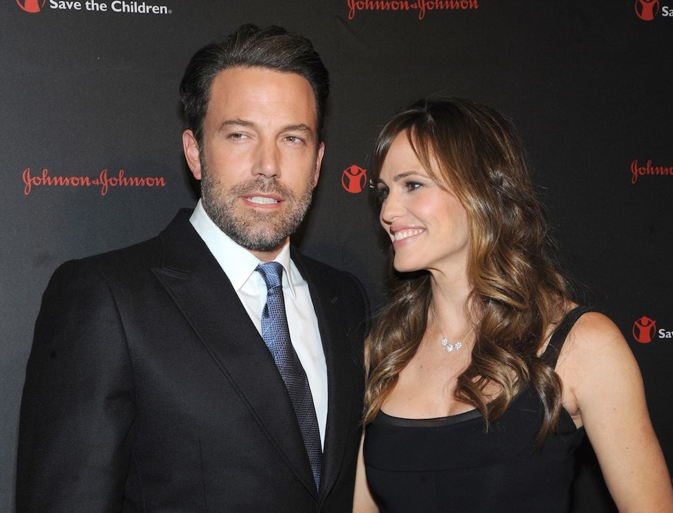 Ben Affleck Jennifer Garner prima del divorzio