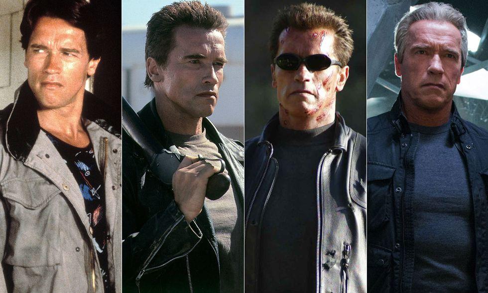 Arnold Schwarzenegger è Terminator: com'è cambiato negli anni - Foto
