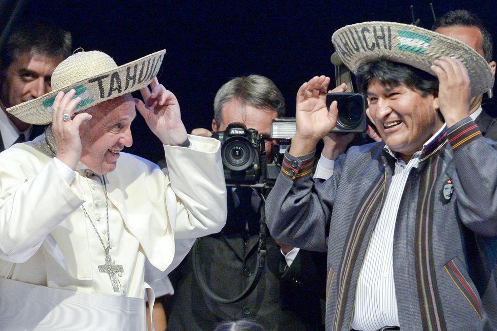 Hasta la victoria siempre Papa FranChesco