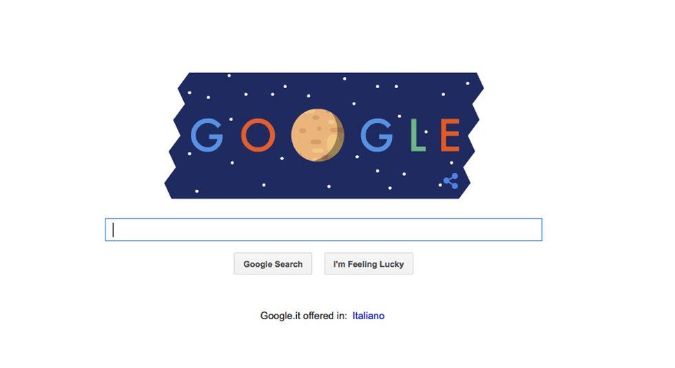 Google: un doodle per Plutone