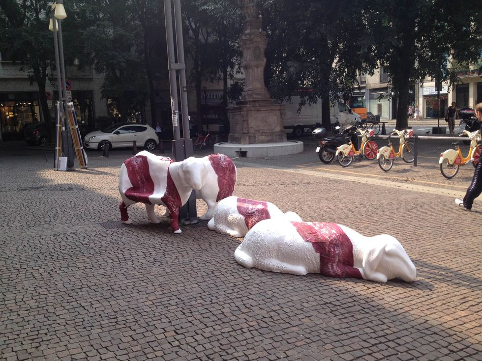 Una galleria d'arte moderna anima Corso di Porta Romana a Milano.