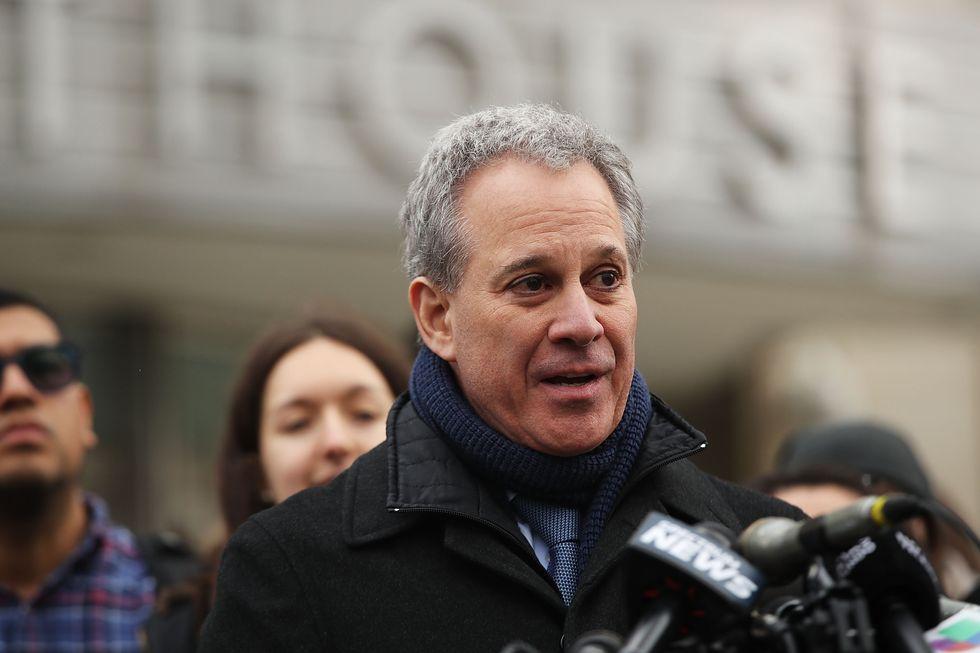Il Procuratore dello Stato di New York Eric Schneiderman