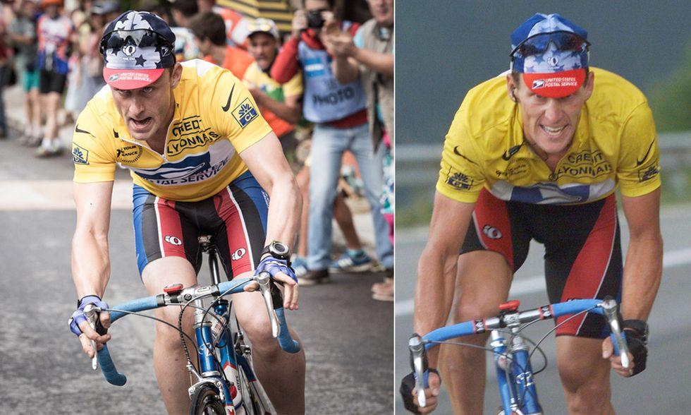 Ben Foster e Lance Armstrong