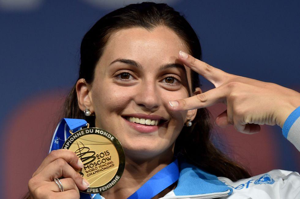 Scherma, Rossella Fiamingo: un doppio oro mondiale verso Rio 2016