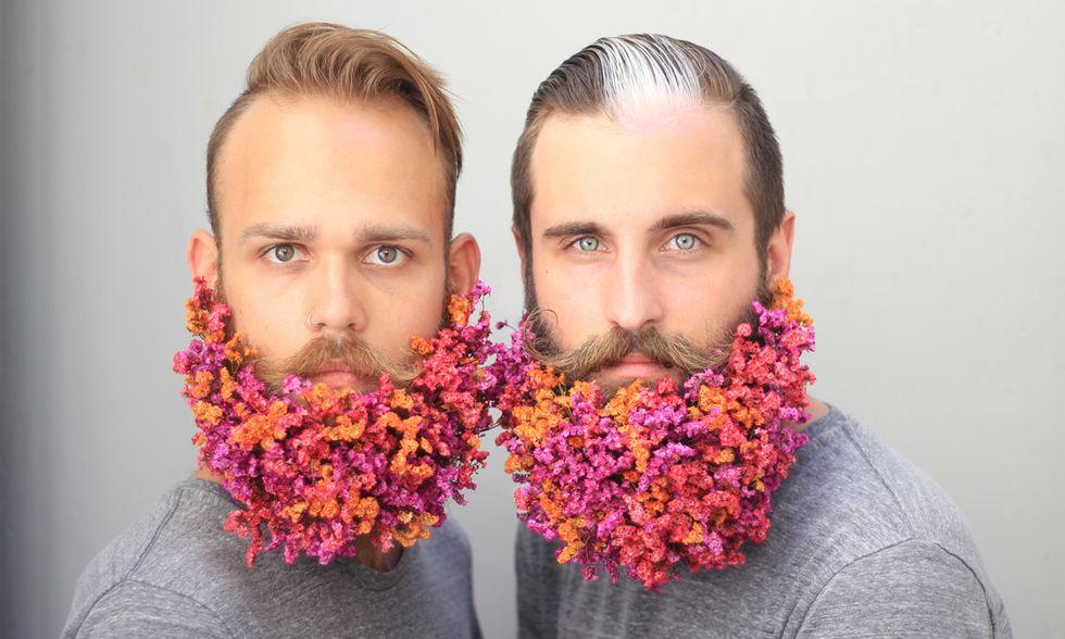 The Gay Beards: barbe d'artista