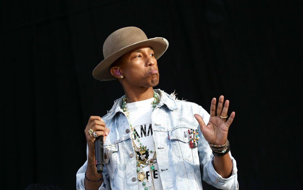 "Pharrell Williams: il video di ""Freedom"""