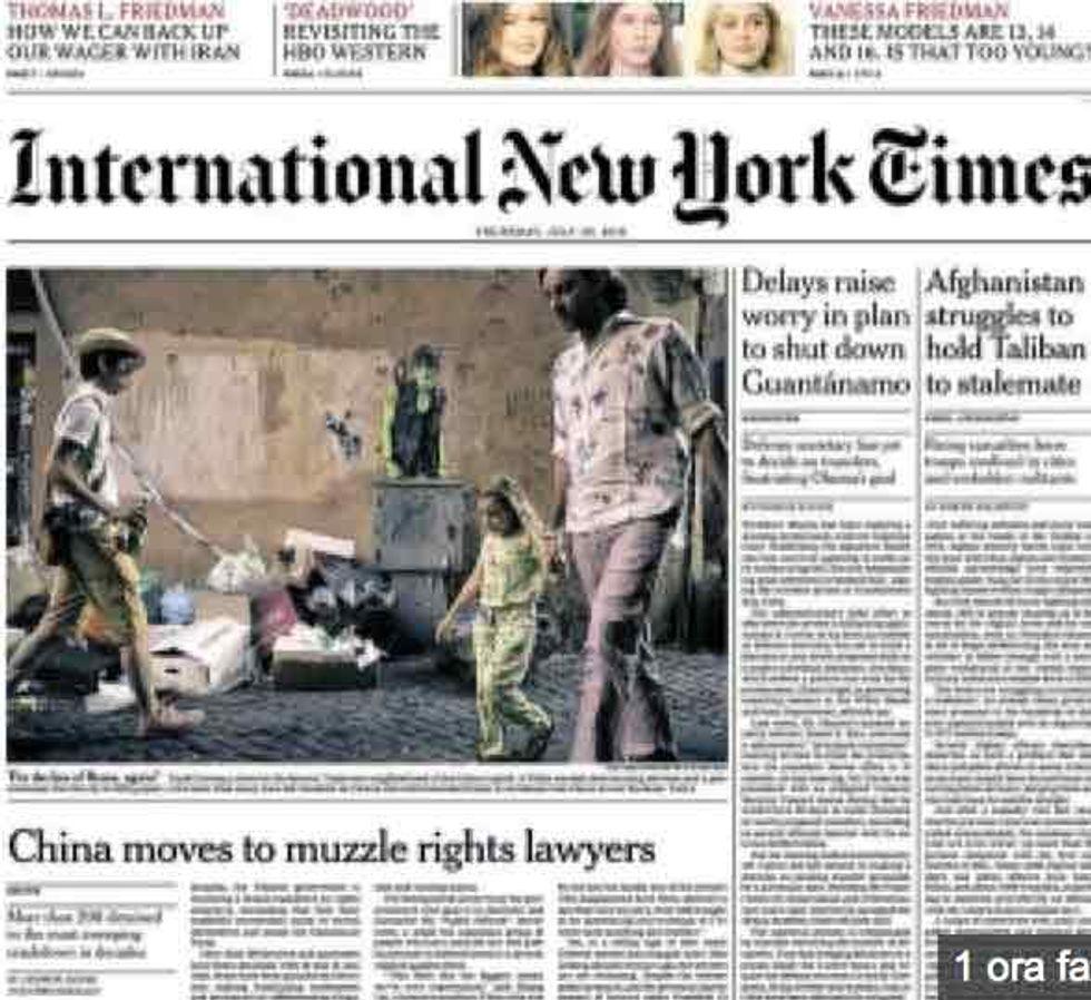 Il degrado di Roma secondo il New York Times