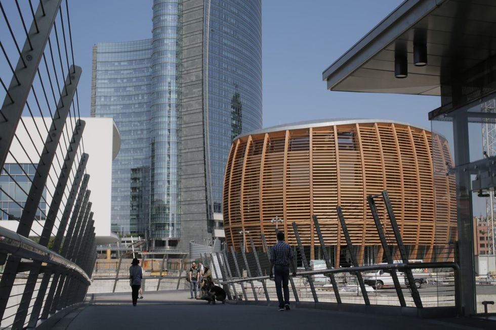 Il nuovo UniCredit Pavilion