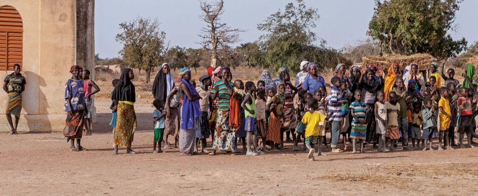 Burkina deo gratias