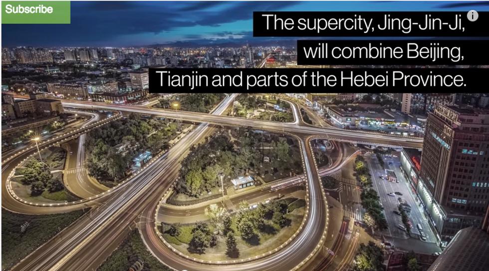 In Cina il progetto per la città più grande al mondo
