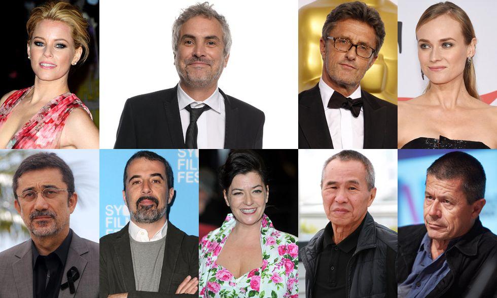 La giuria della Mostra del cinema di Venezia 2015