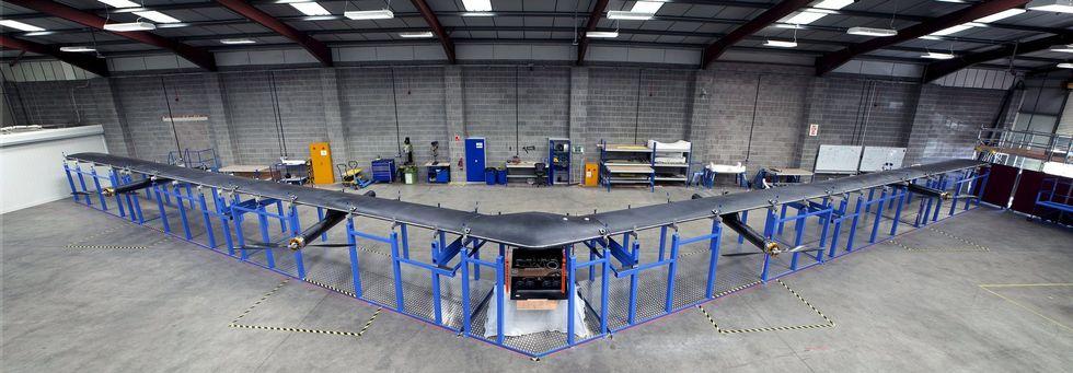 Facebook, ecco il drone di Menlo Park