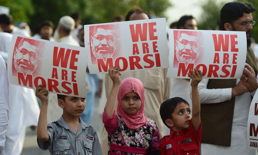 Contro l'esecuzione di Morsi