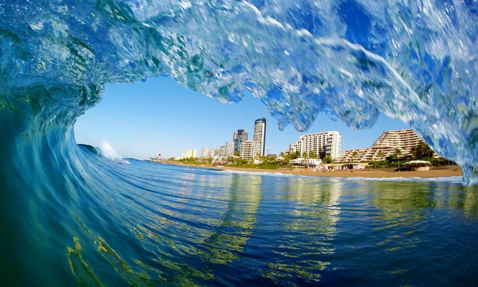 Fotografie di onde in Sudafrica