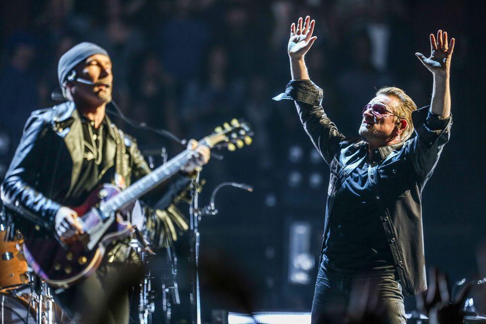 U2: stasera il primo show a Torino - Le canzoni del concerto