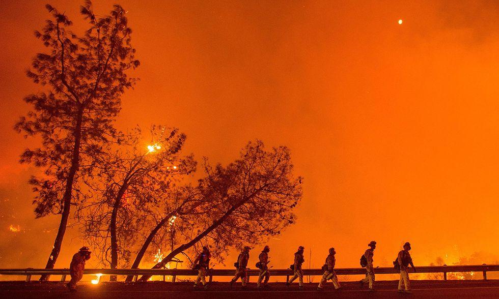 La California in fiamme: foto dei grandi incendi