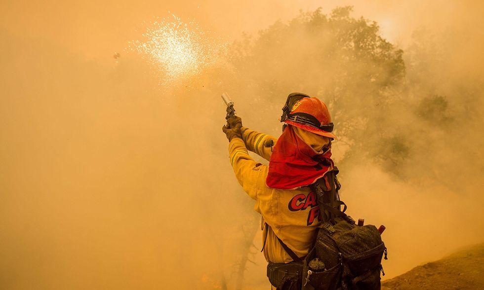 Grandi incendi in California