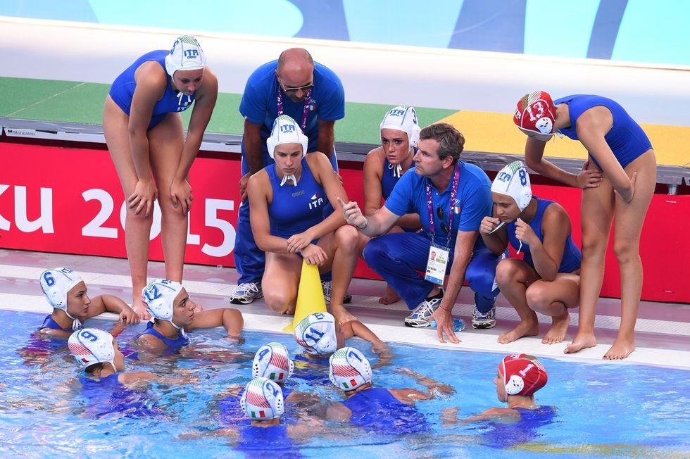 Pallanuoto femminile: Italia - Grecia 9-6, azzurre in semifinale!