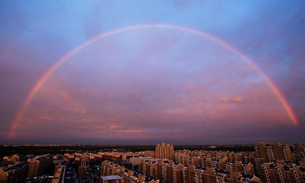 Arcobaleno a Pechino
